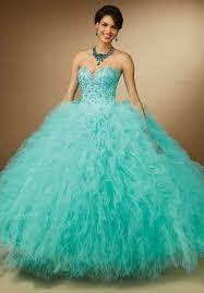 quinceanera dresses aqua mori vizcaya 89055 quinceanera dress ostrich feather ruffle