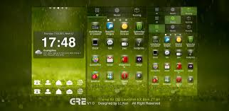 android theme green theme for android by ztart theme on deviantart