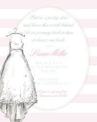 bridal party invitation wording bridal shower invitation wording ideas and etiquette