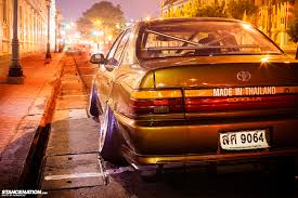 used lexus in thailand a family affair radical corolla from thailand stancenation
