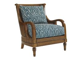 Plantation Patterns Seat Cushions by Tommy Bahama Home Island Paradise Armchair U0026 Reviews Wayfair
