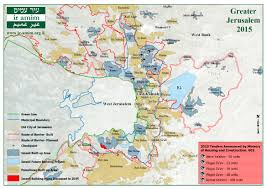 Map Of Jerusalem Resource Center Ir Amim