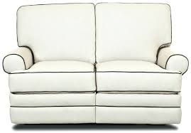 leather double reclining loveseat with console modern loveseat