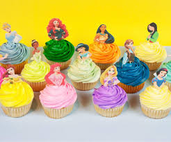 princess cake pop toppers