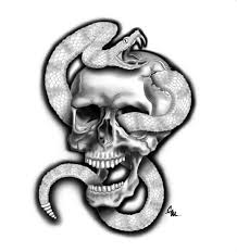 collection of skull and snake by highlanderphill deviantart