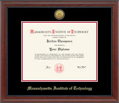 diploma frames massachusetts institute of technology diploma frames church