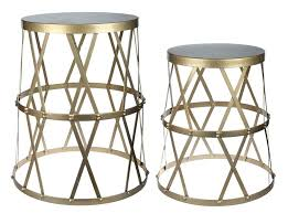 Drum Accent Table Metal Drum Accent Table Outdoor Metal Drum Accent Table U2013 Hism Co