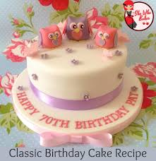 cake birthday classic madeira birthday cake recipe she who bakes