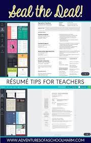 Best Resume For Teacher by Résumé Writing For Teachers Students