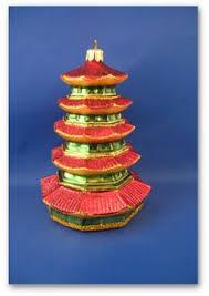 japanese five storied pagoda ornament pagoda ornament