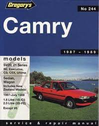 1993 toyota camry repair manual toyota camry sxv20 and mcv20 series 1997 2002 workshop manual