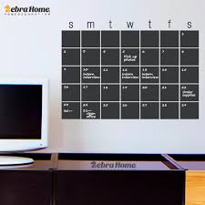home decor planner diy calendar chalkboard month planner whiteboard wall stickers