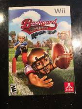 Backyard Sports Football Wii Football Games Ebay