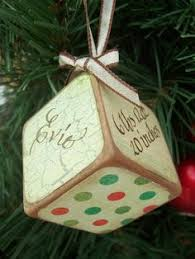 personalized baby block ornament 2 baby block christmas ornament personalized by johaviwoodworking