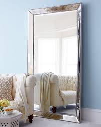 Beveled Floor Mirror by Antiqued Silver Beaded Floor Mirror Floor Mirror Beads And Bedrooms