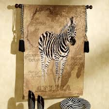 Zebra Home Decorations Decorating White Tapestry Wall Hangings With Wall Art And Wall