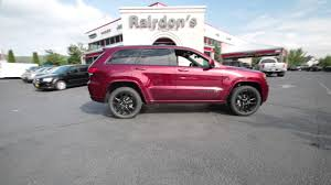 red jeep 2017 2017 jeep grand cherokee altitude velvet red pearlcoat