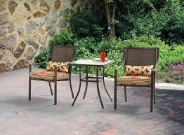 Grey Bistro Chairs Alexandra Square 3 Outdoor Bistro Set Stripe
