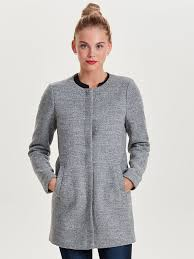 light grey wool coat wool coat only