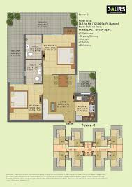 floor plans for gaur city 7 avenue
