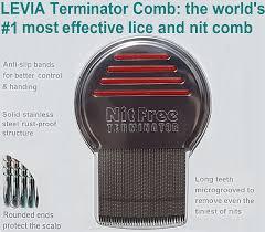 amazon com original nit free terminator lice comb 1 rated lice