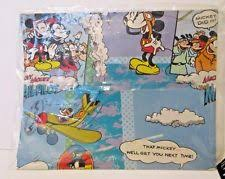 mickey mouse wrapping paper any occasion mickey mouse wrapping paper ebay