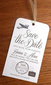 luggage tag save the date destination wedding save the dates best 25 destination wedding