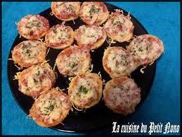recette cuisine facile rapide recette de mini pizza rapide et facile