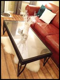 Coffee Table Glass by Diy Coffee Table Www Therefurbishedlife Com Turn A Glass Top