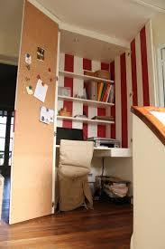 bureau placard la bonne idée un bureau dans le placard galerie photos d article