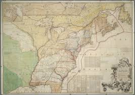 Colonial America 1776 Map by A Map Of The British Colonies In North America Norman B