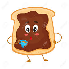 toast clipart funny pencil and in color toast clipart funny