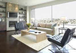 Barcelona Chair Interior Toronto Barcelona Chair Reproduction Living Room Contemporary With