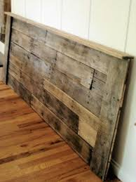 How To Make A King Size Platform Bed With Pallets by Wood Headboards For King Size Beds Foter
