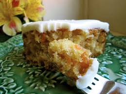 moist pineapple carrot cake with cream cheese frosting