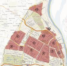 map st louis built st louis the side tour map
