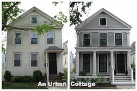 house renovation before and after exterior house makeover rectangle home google search lake