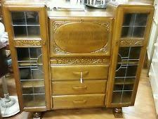 Ornate Display Cabinets Living Room Art Deco Style Display Cabinets Ebay