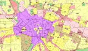 Rochester Ny Map Rochestersubway Com Filling In Zoning Part 1 Introduction