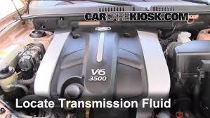2002 hyundai santa fe v6 transmission fluid leak fix 2001 2006 hyundai santa fe 2003