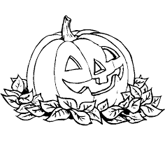 halloween coloring color pictures