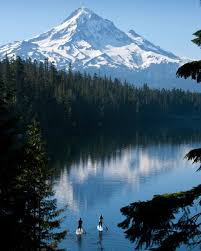 Oregon lakes images Stand up paddling in oregon road trip oregon reliable sprinter jpg