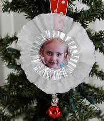 photo christmas ornament craft