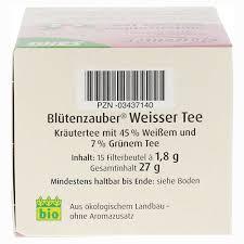 K Hen Kaufen Online Weisser Tee Blütenzauber Bio Salus Filterbeutel 15 Stück Online