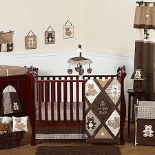 Jojo Crib Bedding Sweet Jojo Designs Teddy Crib Bedding Collection In Chocolate