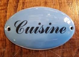 cuisine plaque cuisine porcelain enamel plaque sarasota architectural salvage