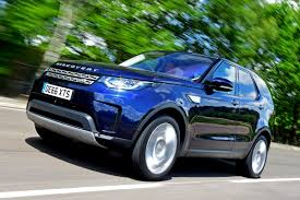 blue land rover discovery 2017 new land rover discovery td6 2017 review auto express