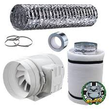 carbon filter fan for grow room fantronix in line fan carbon filter duct kit hydroponic grow