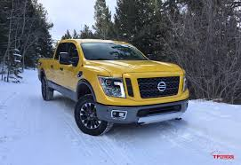 nissan titan for sale ontario 2016 nissan titan xd pro 4x takes on the snowy gold mine hill off