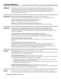 engineering resume for internship resume writing tips seek thesis proposal exle engineering
